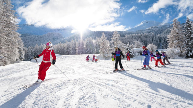 Val Cenis Hiver Cours Ski Esf A Pernet