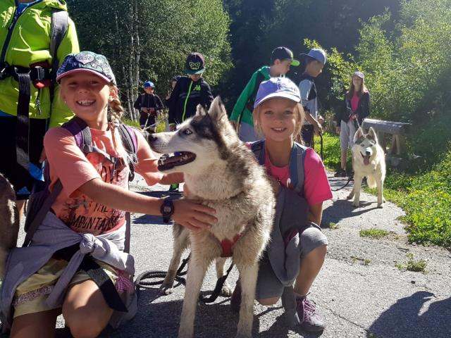 Activite Cani Rando Club Enfants Montagne Ete Lanorma©marysedelangle
